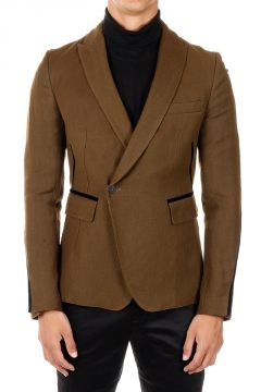 Linen and Wool Blend blazer