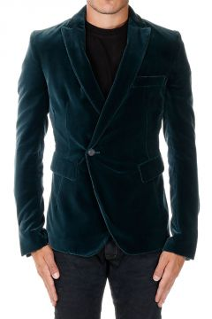 Blazer Monopetto in Velluto