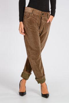 Pantaloni TALIAFERRO VISON in Velluto Millerighe