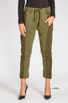 Pantaloni PERTH in Cotone Stretch con Coulisse