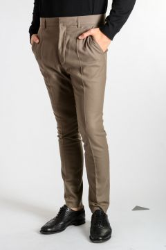 Cashmere Virgin Wool CALABRIA WALNUT Pants