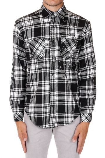 Checked Printed ESSENTIALS Shirt