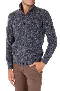 Virgin Wool Alpaca Blend Cardigan with Pockets