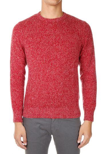 Virgin Wool alpaca Round Neck Sweater