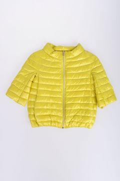 Nylon 3/4 Sleeves Down Jacket