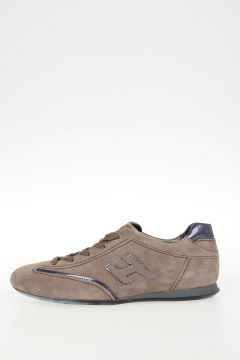 Sneakers OLYMPIA H FLOCK In Pelle