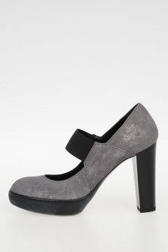 10 cm Leather Pumps