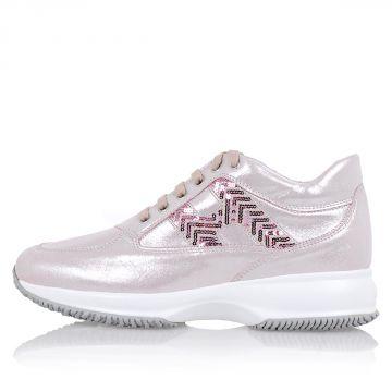 Sneakers INTERACTIVE In Pelle Ricamate
