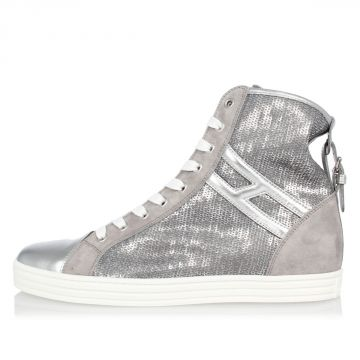 High top Sneakers with Paillettes