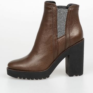 10 cm Leather Chelsea Boots