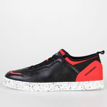 HOGAN REBEL Sneakers in Pelle e Tessuto Tecnico