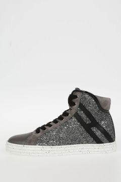 HOGAN REBEL Sneakers alte Con Glitter
