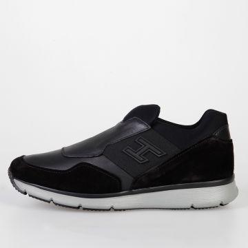 Sneakers NEW SLIP-ON in Pelle e Tessuto