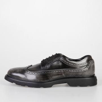 Leather NEW ROUTE DERBY Brogue Lace-Up Shoes