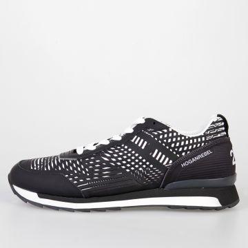 HOGAN REBEL 3D Sneakers in Pelle e Tessuto