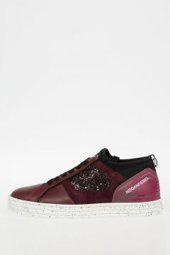 HOGAN REBEL Glittered Sneakers