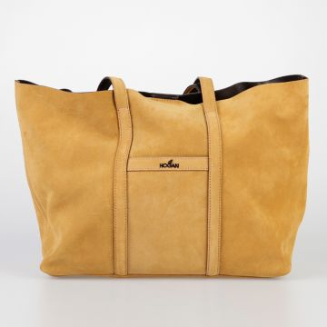 Suede Leather Hand bag