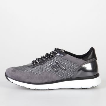 Leather & Fabric H254 Sneakers