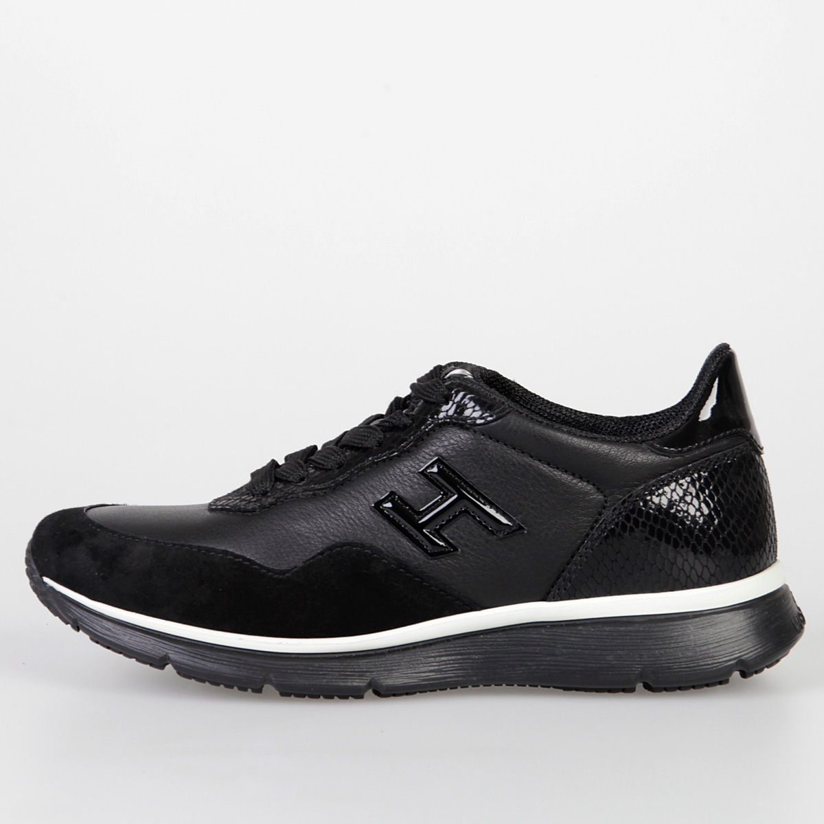 282ebdf4cf Hogan Women Leather TRADITIONAL H254 Sneakers - Glamood Outlet