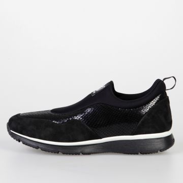 Leather & Technical Fabric H254 TRADITIONAL Sneakers
