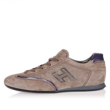 Sneakers in Pelle Scamosciata