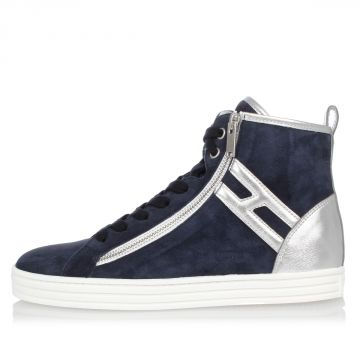 Suede Leather high top Sneakers
