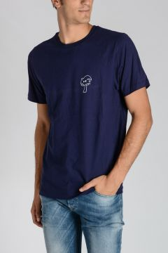 Jersey TROPICAL NAVY T-shirt