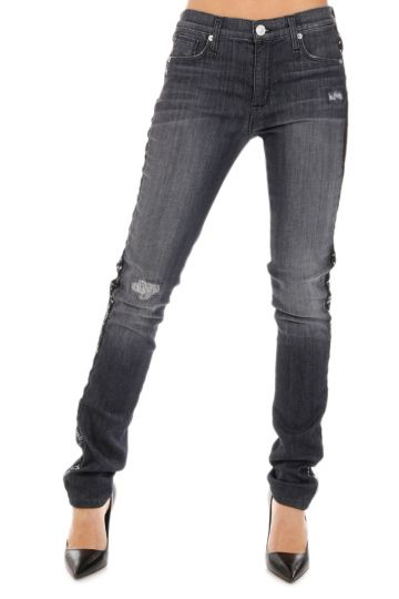 Jeans MIDRISE LANA Skinny in Denim Stretch 15 cm
