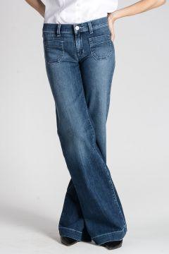 LIBBY MIDRISE WIDE LEG  Jeans 28 cm