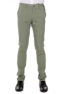 Stretch Cotton Skin Fit Trousers