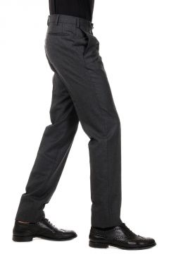 Pantaloni Slim Fit in Lana
