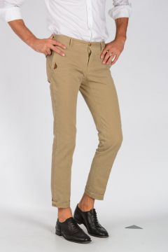 Chino Pants with Embroidered Details