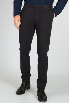 Pantaloni Chino con in Cotone Stretch