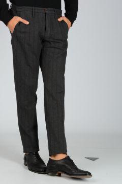 Pantaloni in Gabardine di Cotone