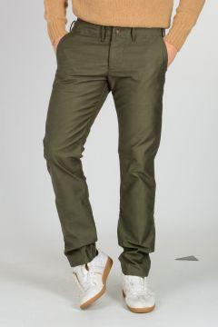 Pantaloni Chino in Cotone Satin
