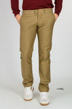 Satin Cotton Chino Pants