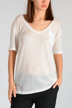 T-shirt in Maglia Oversize
