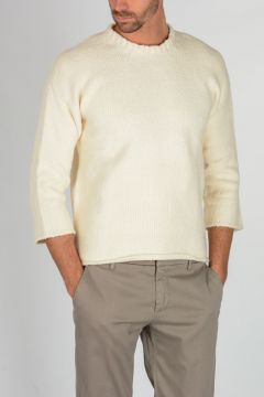 Maglione in Cotone Stretch