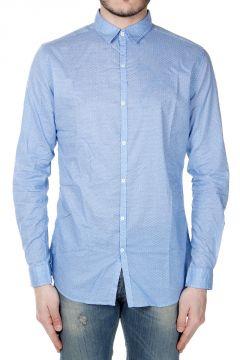Camicia in Cotone con Motivo