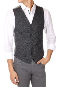 Gilet in cotone Stretch