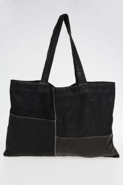 Borsa Shopper in Pelle Patchwork