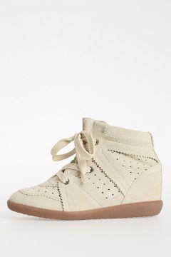 ETOILE Leather VELVET STAINER BASKET BOBBY Boots