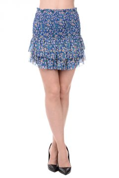 ETOILE Silk SEREK Tiered Mini Skirt