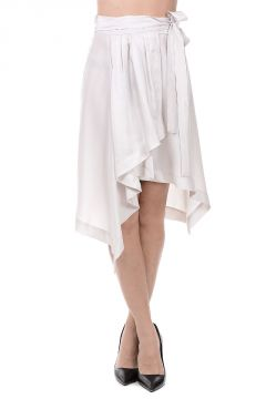 Silk Linn Wrap Skirt