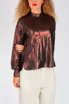 ETOILE Metallized Fabric MELVA Shirt