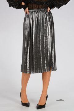 Plisse Glitter Skirt