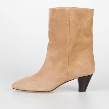 5 cm Suede Leather DYNA Boots