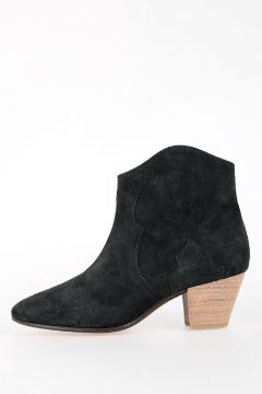 Suede Leather DICKER ankle Boots