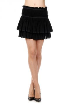 Pleated Miniskirt