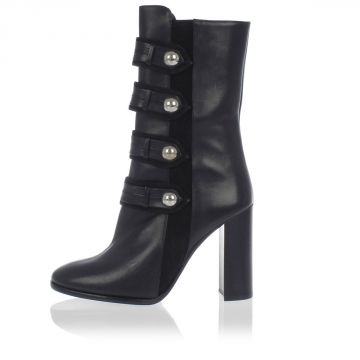 Leather Studded BRANDEBOURG Boots